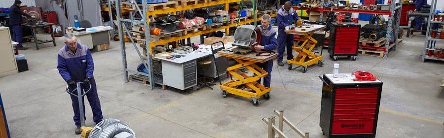 maintenance des moteurs électriques