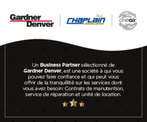 Chaplain, le business partner